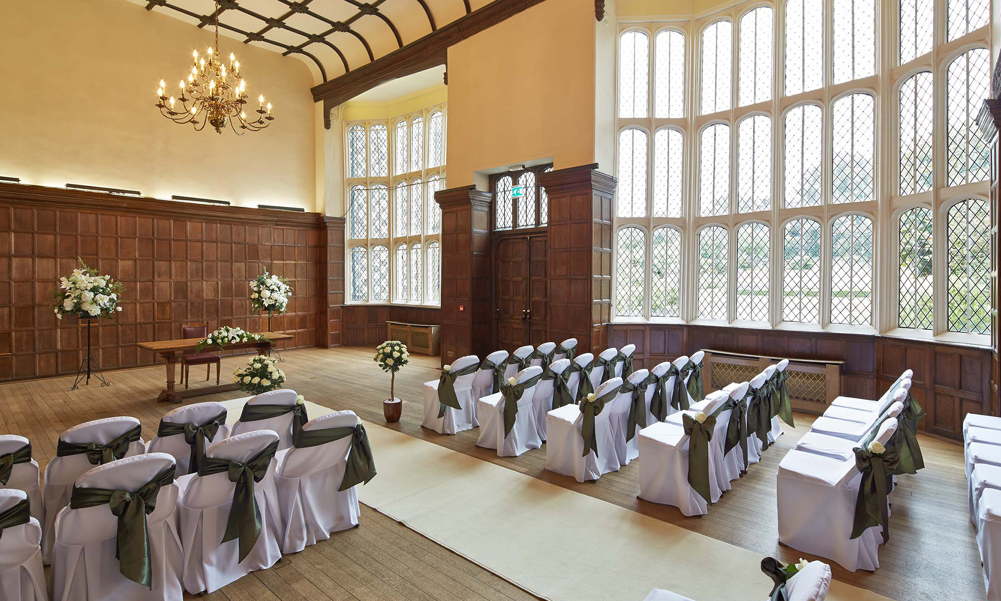 Promoting Weddings at Hall Place