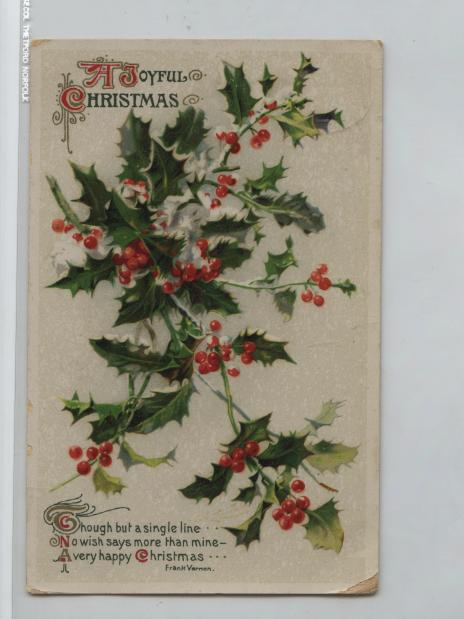 Promoting Museum Collection Vintage Christmas Cards