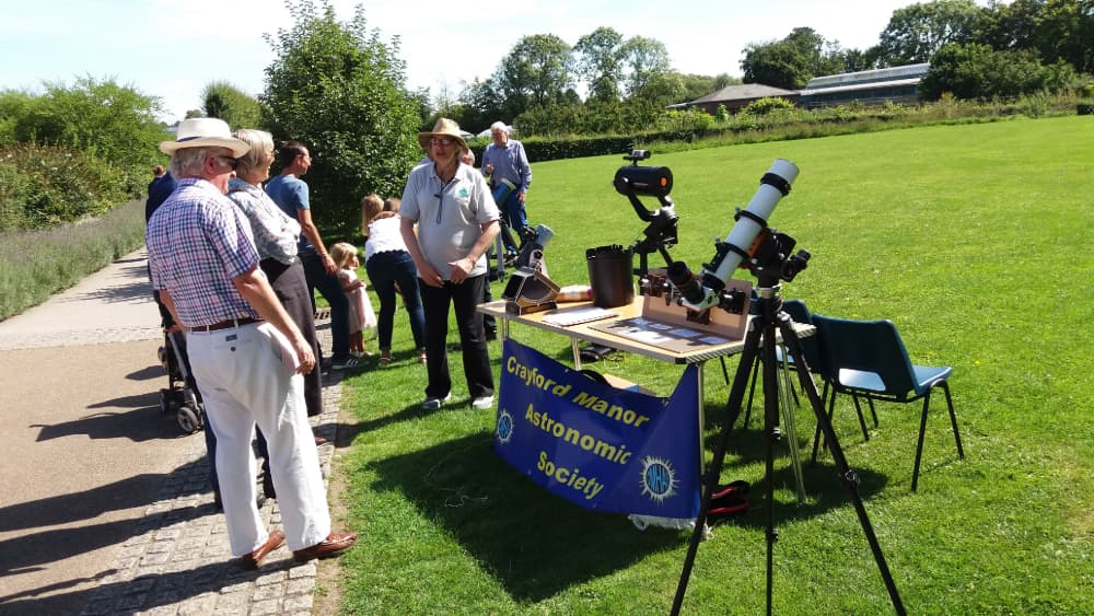 Event Advertising Solar observing