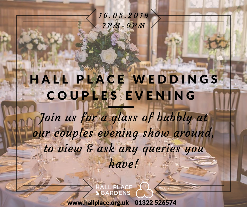 Event - Wedding Couples Evening Advertising